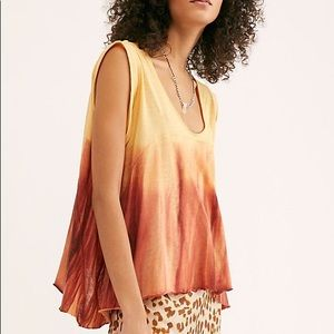 ❤️Free People We The Free Ombré Paradise Tee